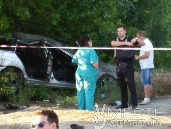 У Запоріжжі автомобіль на швидкості збив на смерть матір з дитиною