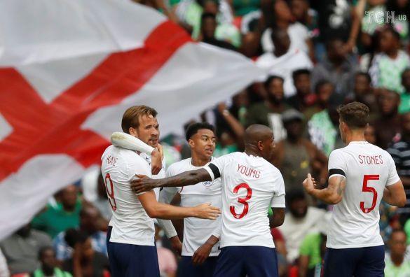 Футболісти збірної Англії