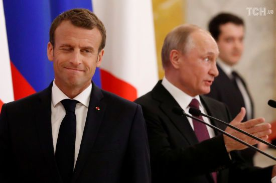 Макрон не запросить Путіна на саміт G7 через відсутність прогресу щодо України - ЗМІ