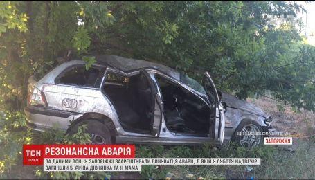 В Запорожье взяли под арест подозреваемого в смертельном ДТП