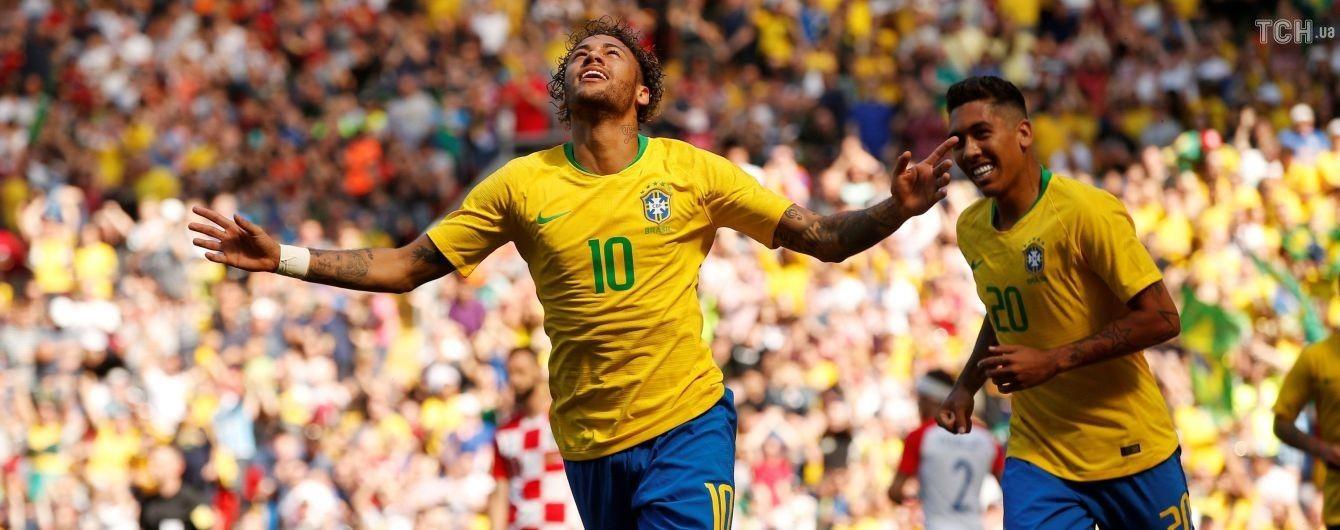 Бразилия обыграла хорватов благодаря голу Неймара, Испания разошлась миром со Швейцарией