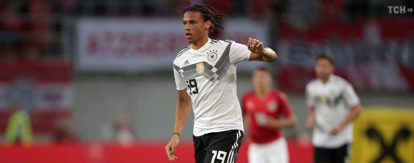 """Збірна Німеччини не включила у заявку на ЧС-2018 форварда """"Манчестер Сіті"""""""