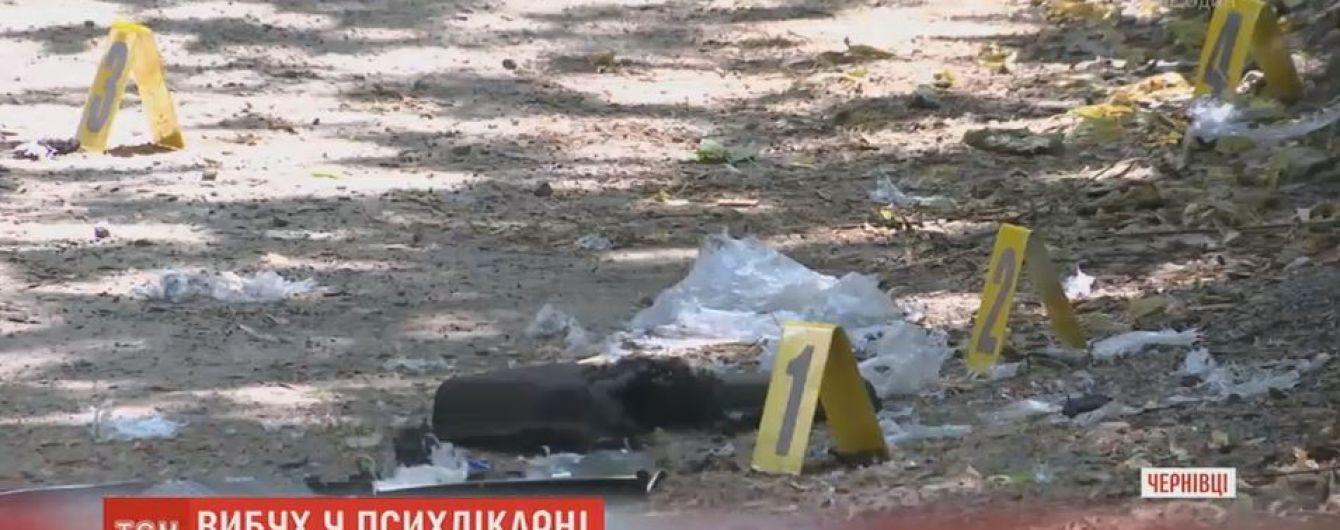 17-річний чернівчанин постраждав від вибуху сумки, яку знайшов на території психіатричної лікарні