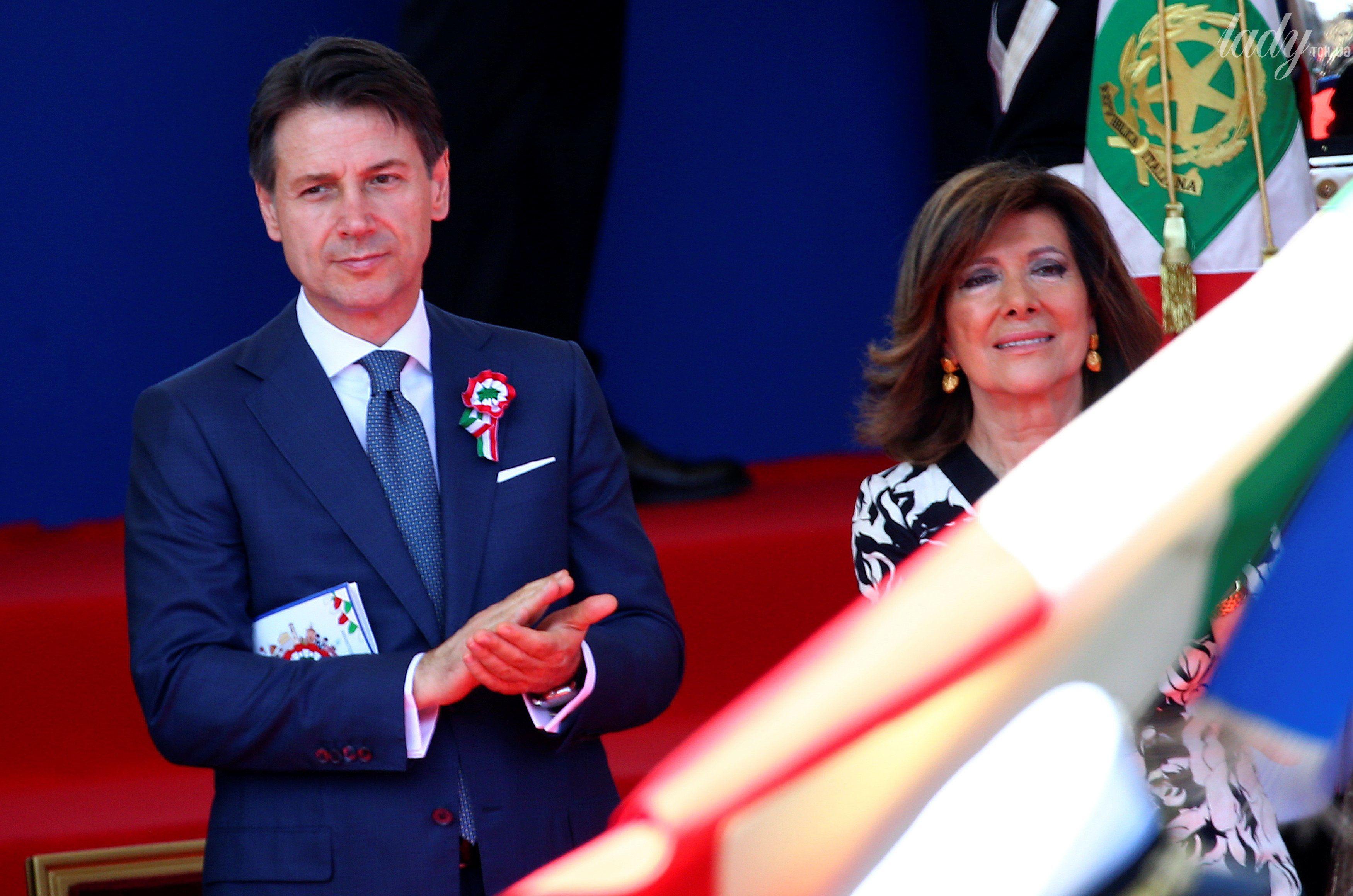 Председатель сената Италии Мария Элизабетта Альберти Казеллати_2