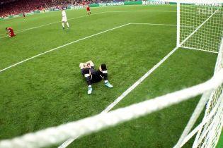 """Работа Рамоса. Вратарь """"Ливерпуля"""" почти весь второй тайм битвы с """"Реалом"""" провел с сотрясением мозга"""