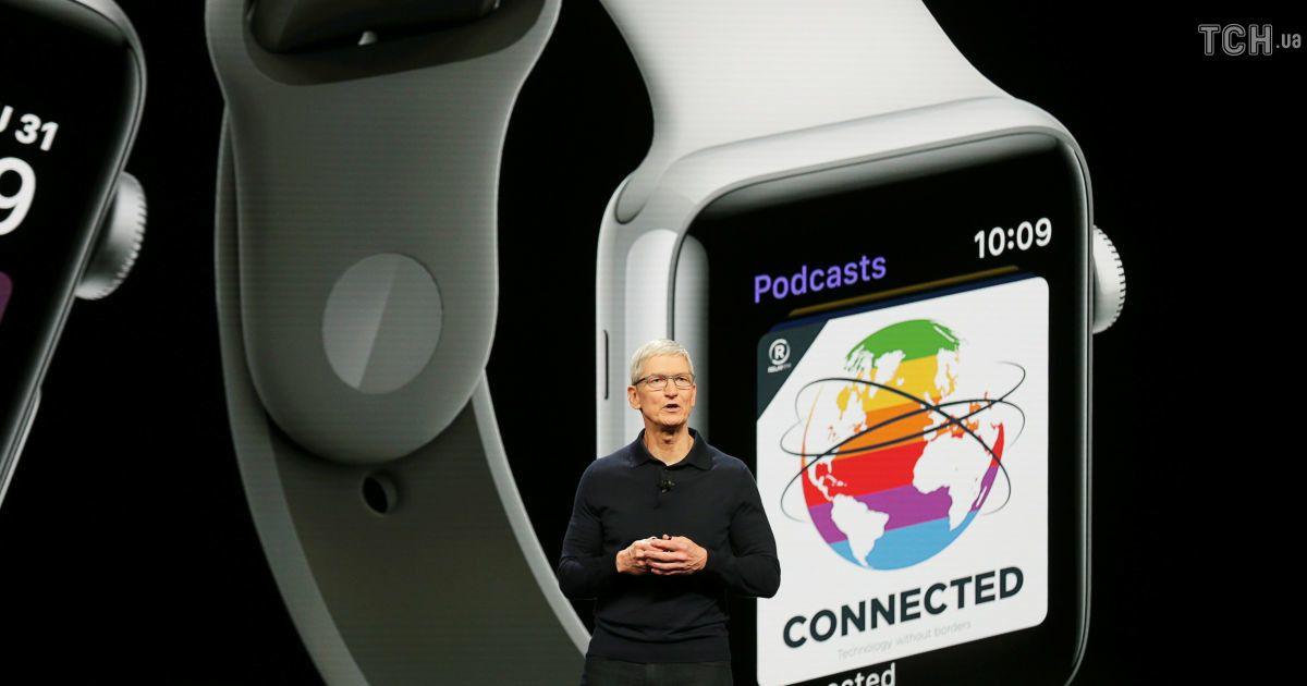 """Новий """"розумний годинник"""" від Apple - watchOS 5. @ Reuters"""