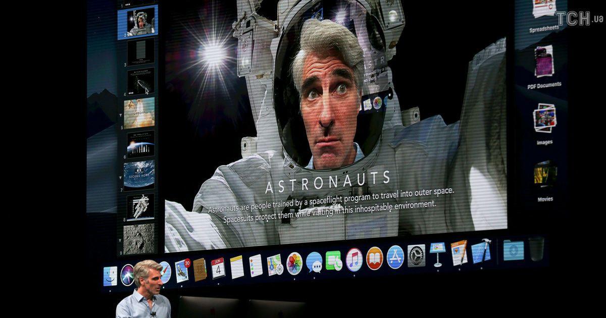 Нова версія macOS буде називатися macOS Mojave. @ Reuters