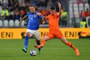 Італія і Нідерланди не визначили переможця у товариському матчі