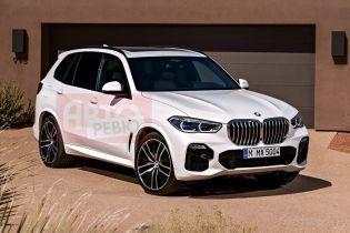 Шпионы засняли новое агрессивное BMW X5 без камуфляжа