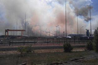 Синоптик предупредила, что ветер несет дым с пожара в Чернобыльской зоне на Киев