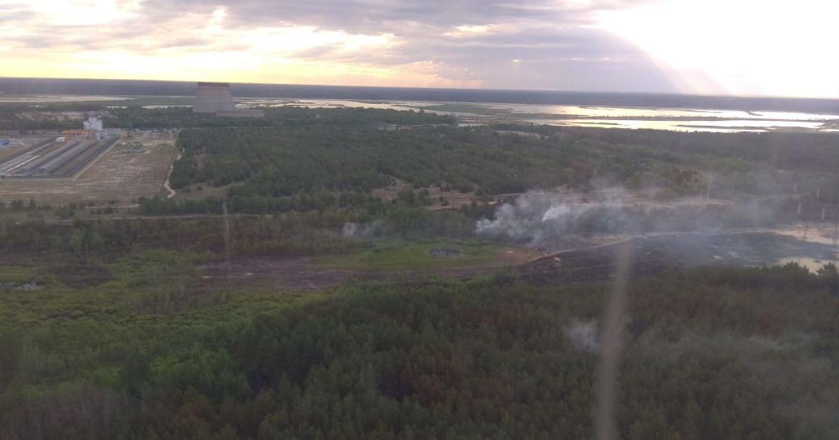 Пожежа в Чорнобилі. Радіаційний фон поки перебуває в нормі