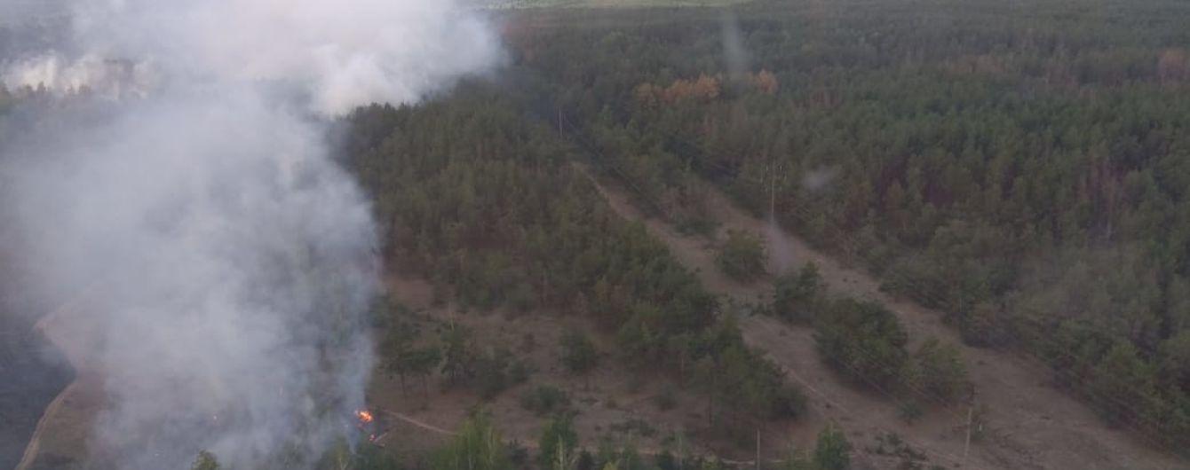 Через пожежу в Чорнобильській зоні поліція відкрила кримінальне провадження