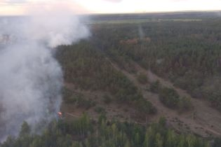 Из-за пожара в Чернобыльской зоне полиция открыла уголовное производство