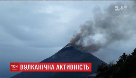 75 людей загинуло внаслідок виверження гватемальського вулкану