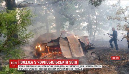 Основною причиною займання у Чорнобильській зоні називають підпал