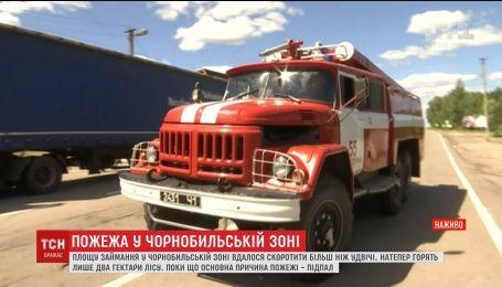 В ДСНС объяснили, почему так долго продолжается тушение пожара у Чернобылю