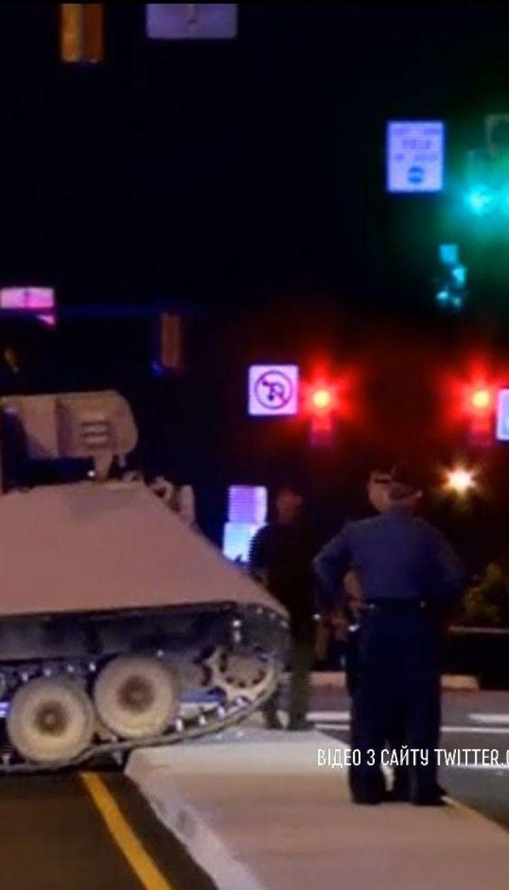 В США солдат похитил бронированный автомобиль из воинской части