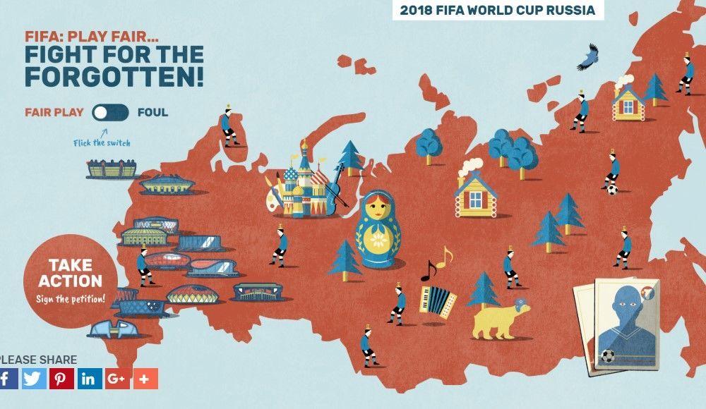 інтерактивну карта Росії