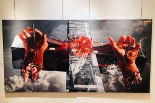 На Мангетені відкрилась виставка українських арт-митців