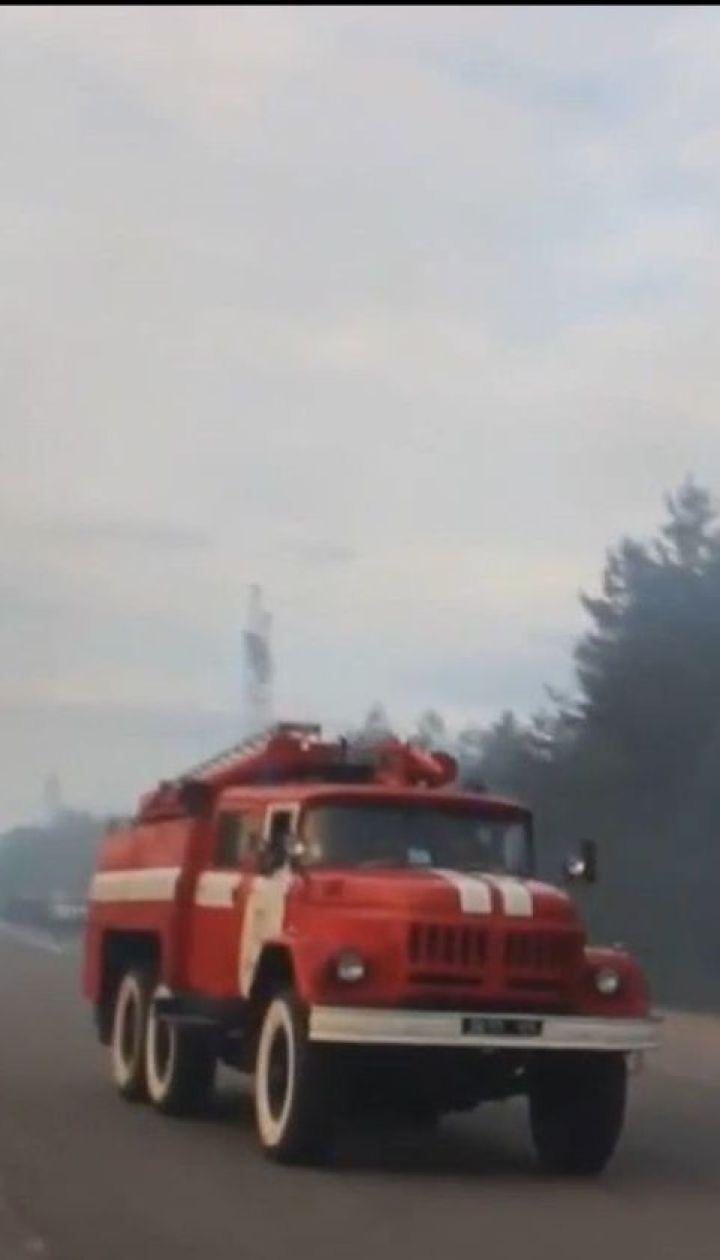 У Чорнобилі досі горить Рудий ліс