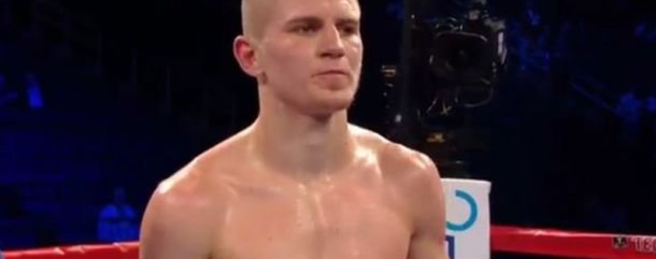 Непереможний український боксер нокатуом здолав мексиканського суперника