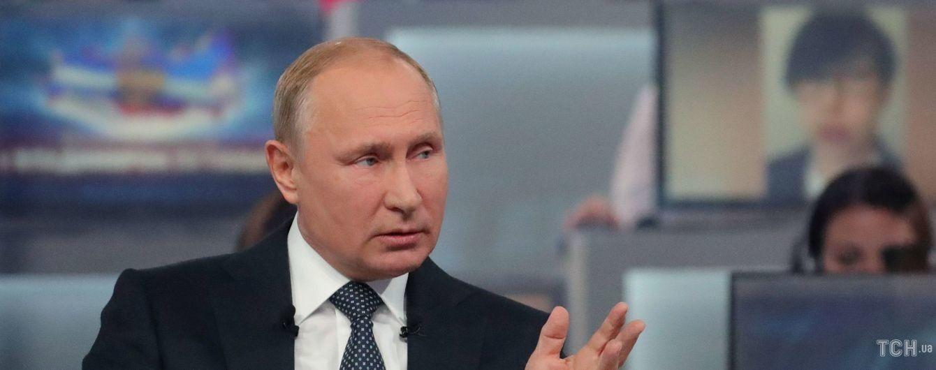 """Путін поговорив з терористом Прилепіним і сказав про загрозу """"українській державності"""""""