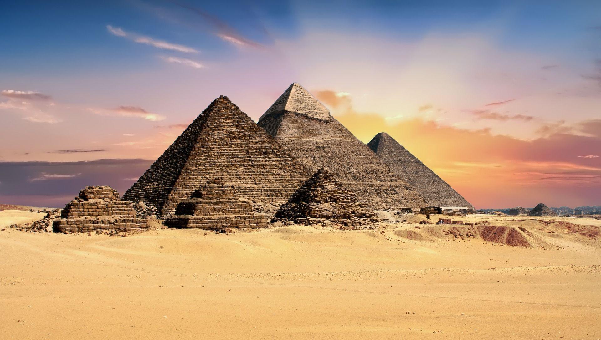 Єгипет, піраміди