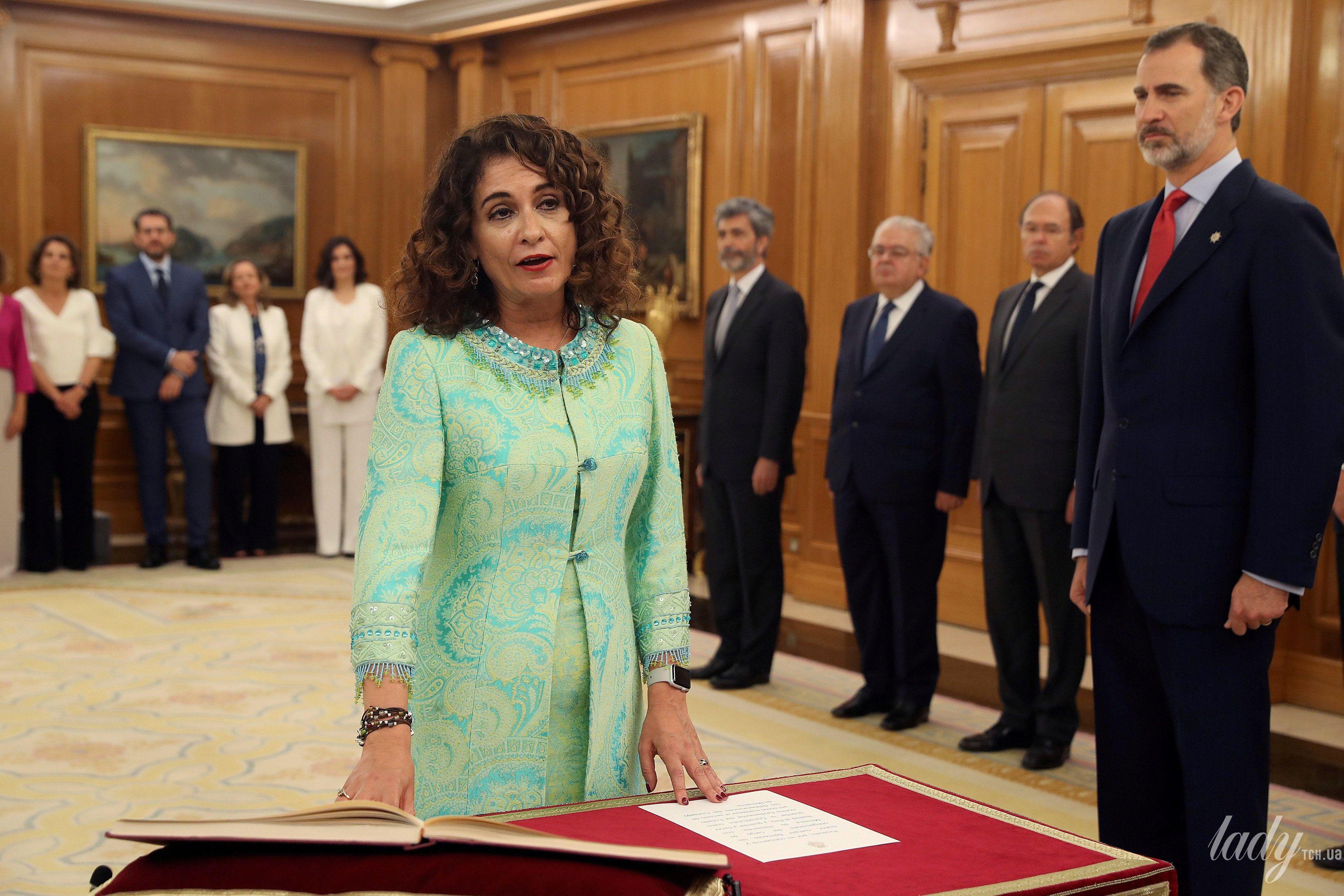 Министр финансов Испании Мария Хесус Монтеро_1