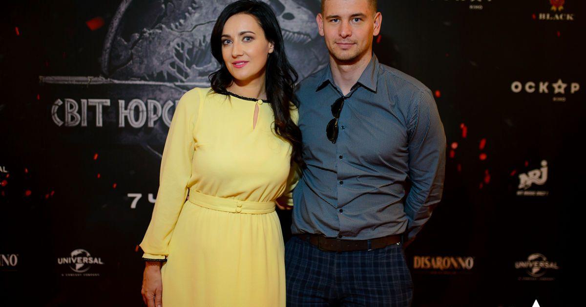 """Соломія Вітвіцька з чоловіком @ Кінотеатр """"Оскар"""""""