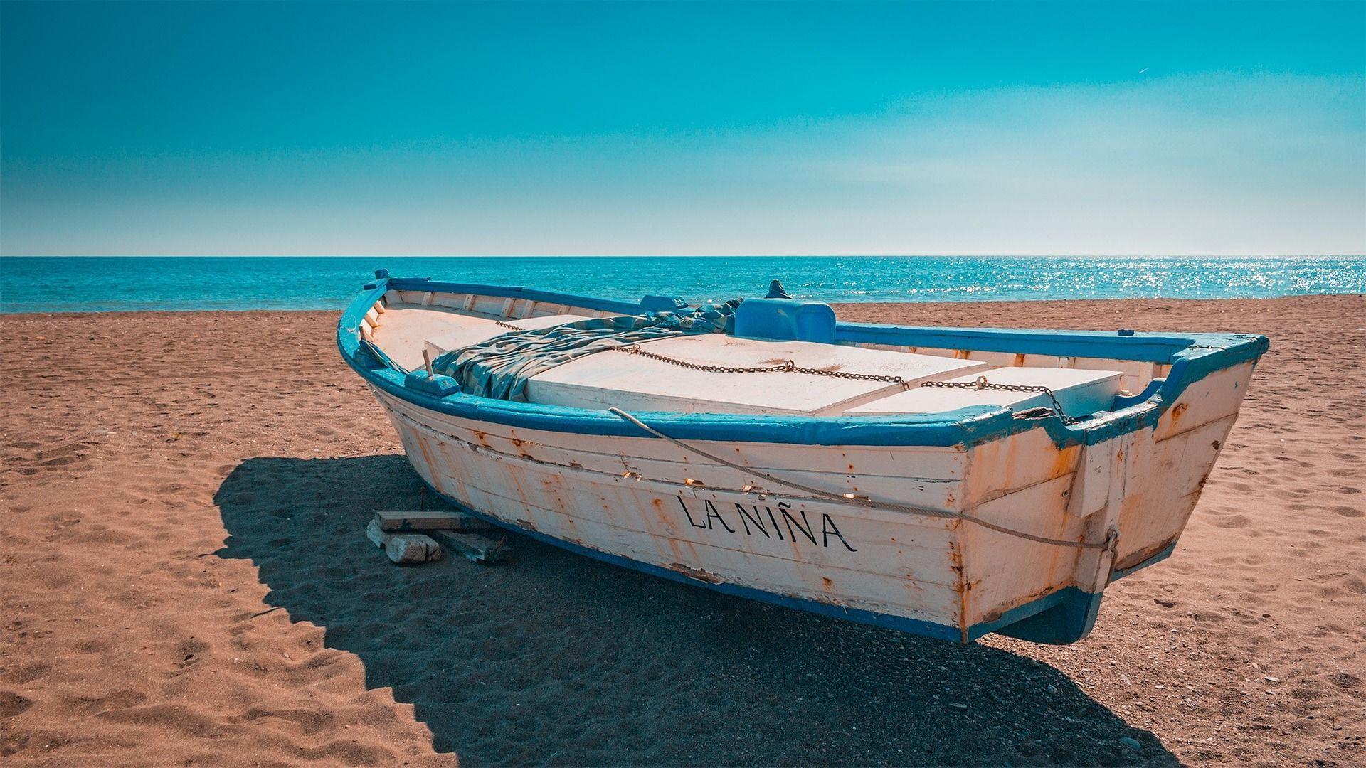 Іспанія, море, пляж, човен