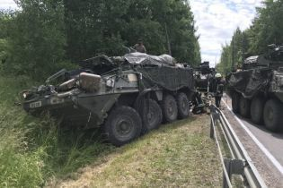 У Литві сталася ДТП за участі чотирьох БТР, постраждало 13 військових США