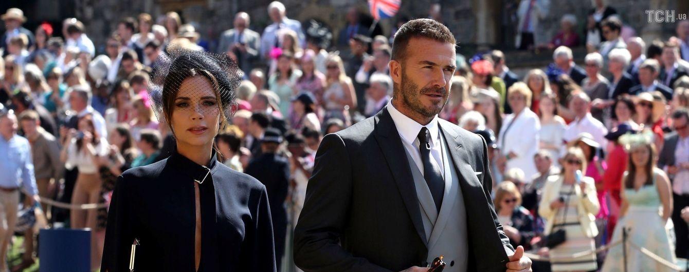 Дэвид и Виктория Бекхэмы продают свои наряды со свадьбы принца Гарри и Меган