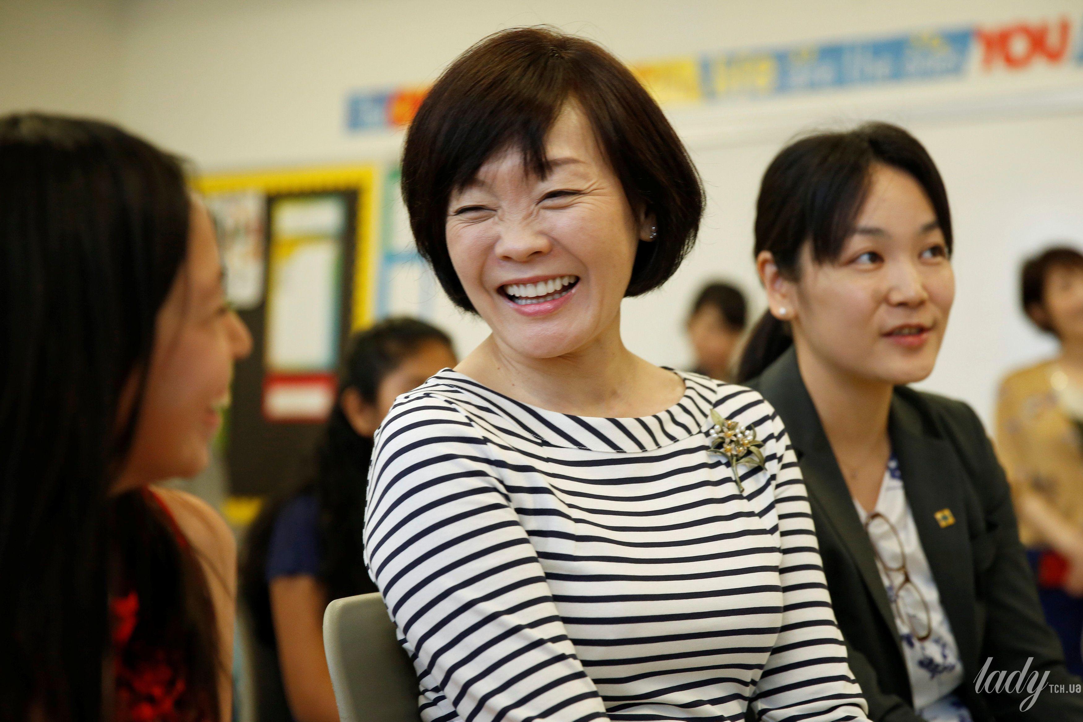 Жена премьер-министр Японии Аки Абэ_2