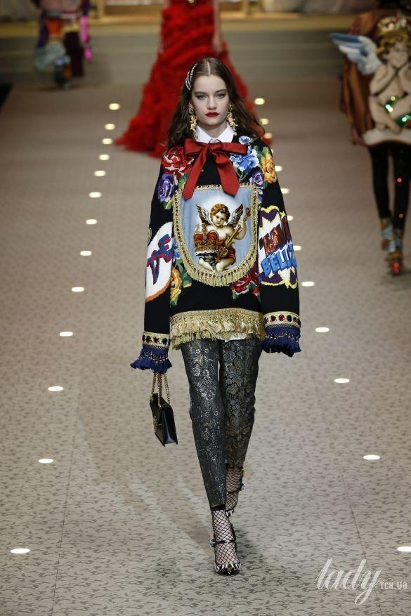 Коллекция Dolce&Gabbana прет-а-порте сезона осень-зима 2018-2019_67