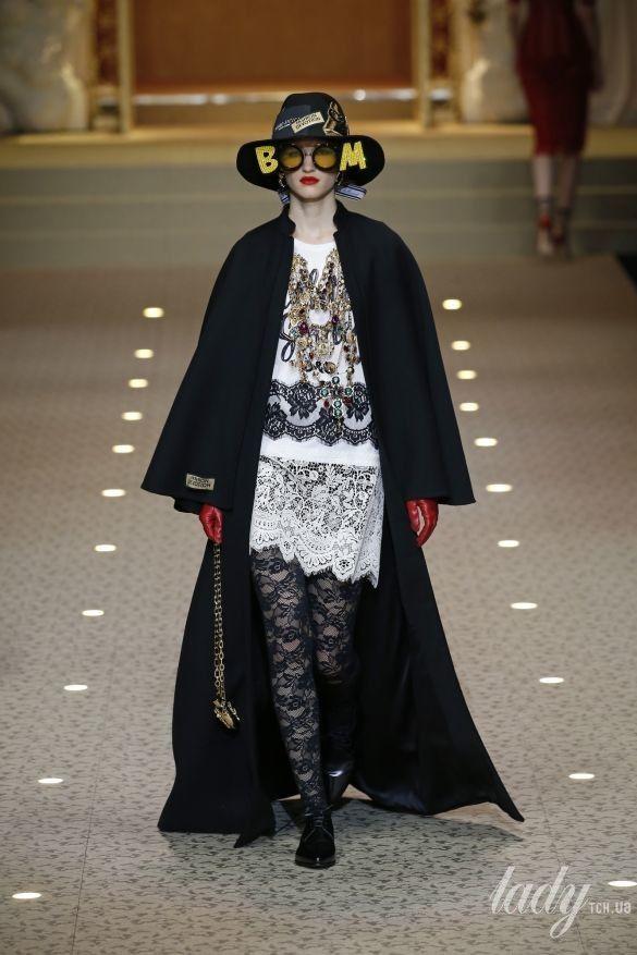 Коллекция Dolce&Gabbana прет-а-порте сезона осень-зима 2018-2019_110