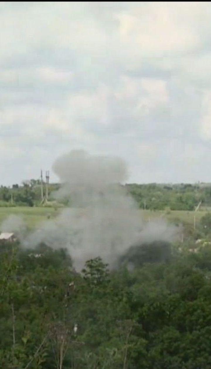 Ворог на фронті атакував українські позиції, є поранені