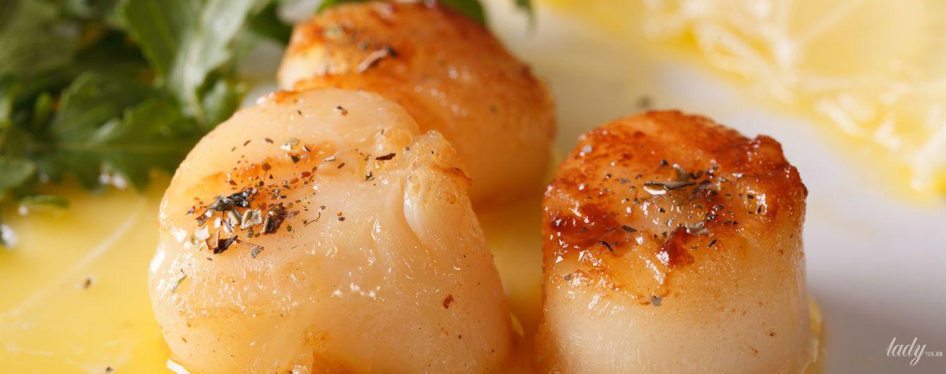 Как приготовить морской гребешок