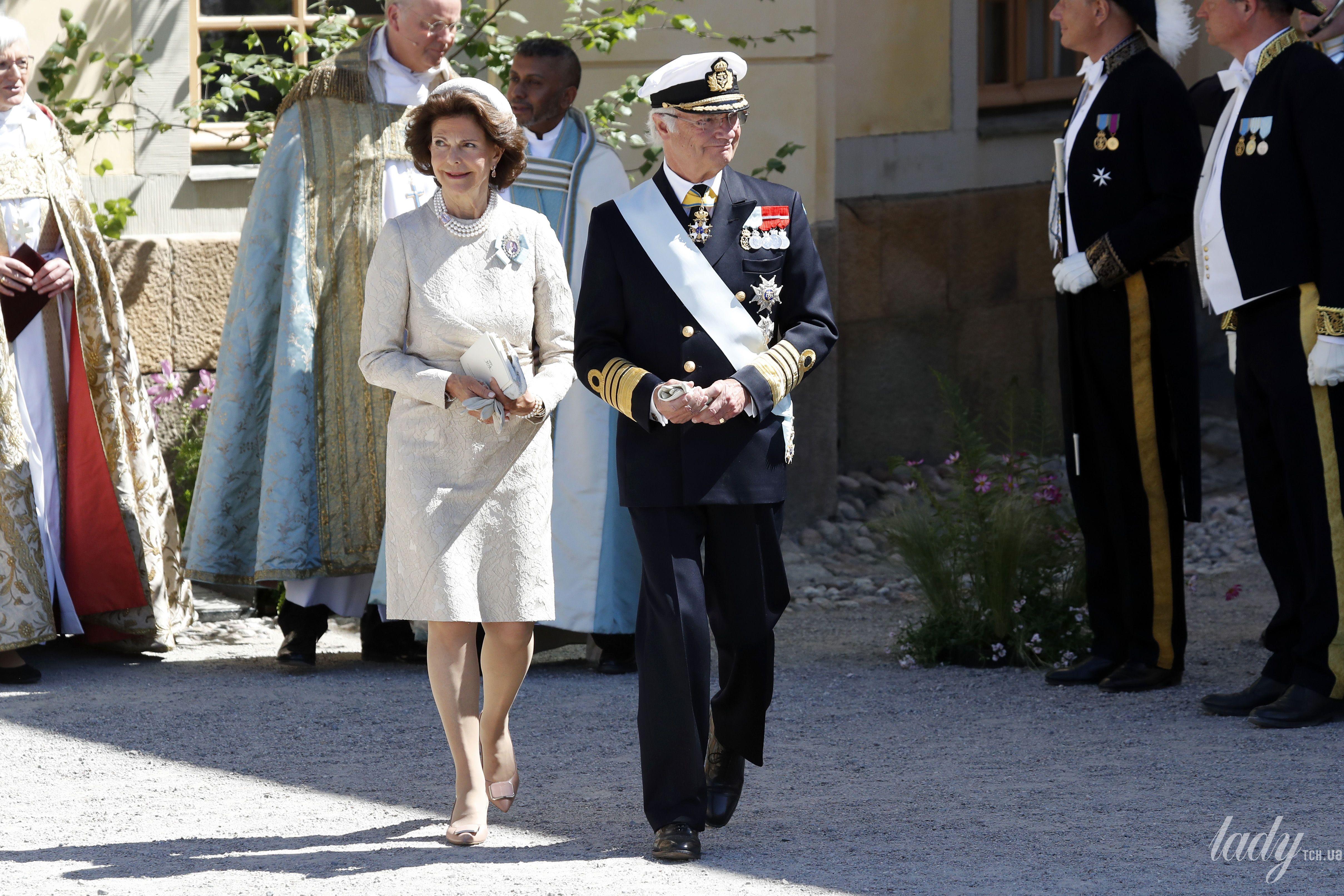 Королева Сильвия и король Карл Густав