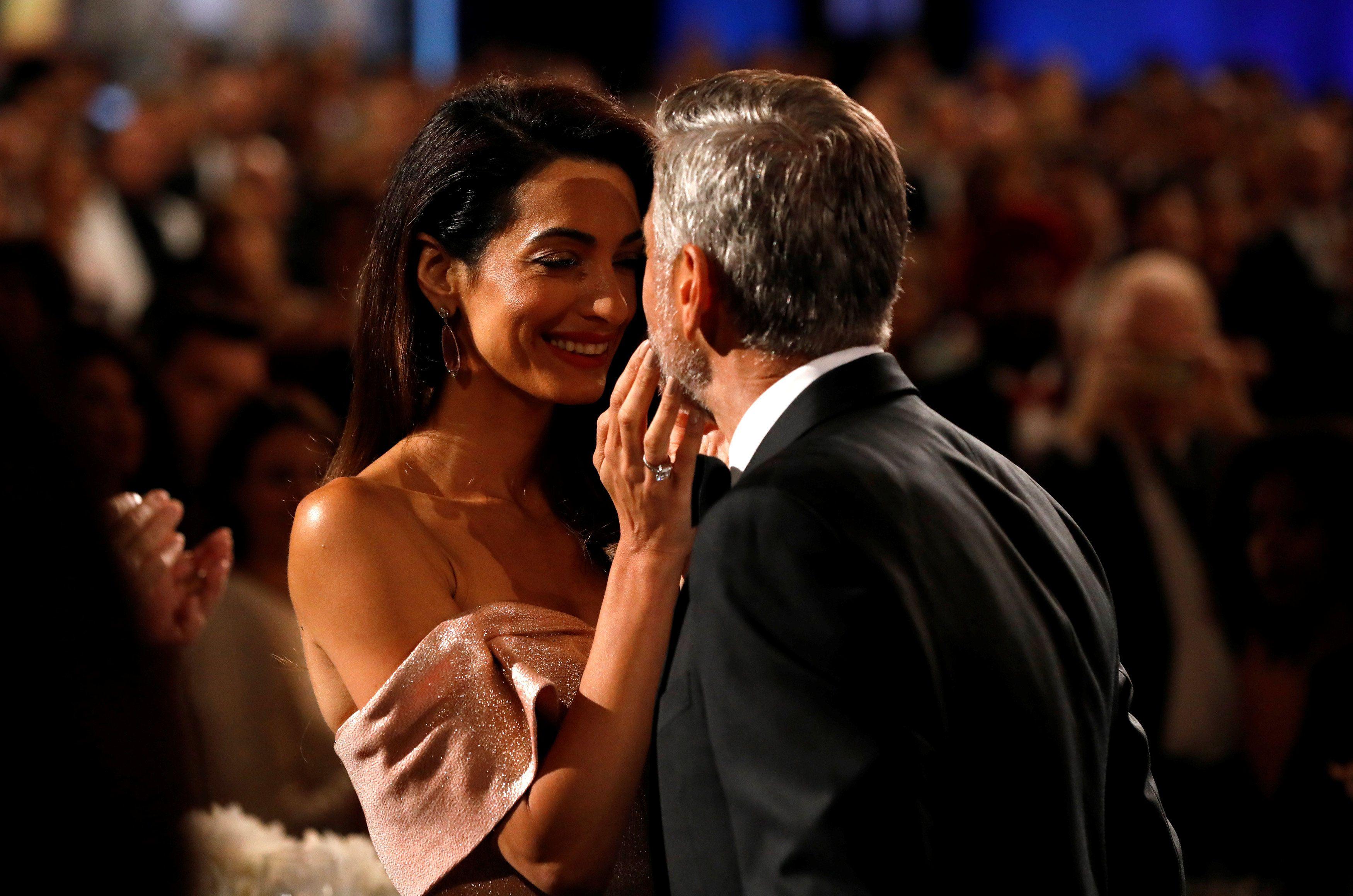 Джордж та Амаль Клуні_2