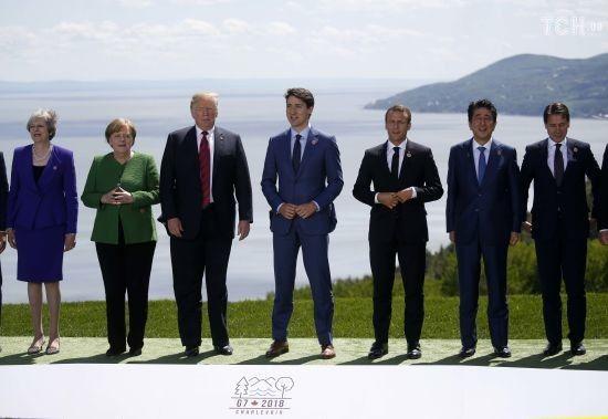 У Канаді на тлі розбіжностей між США та іншими учасниками розпочався саміт Великої сімки