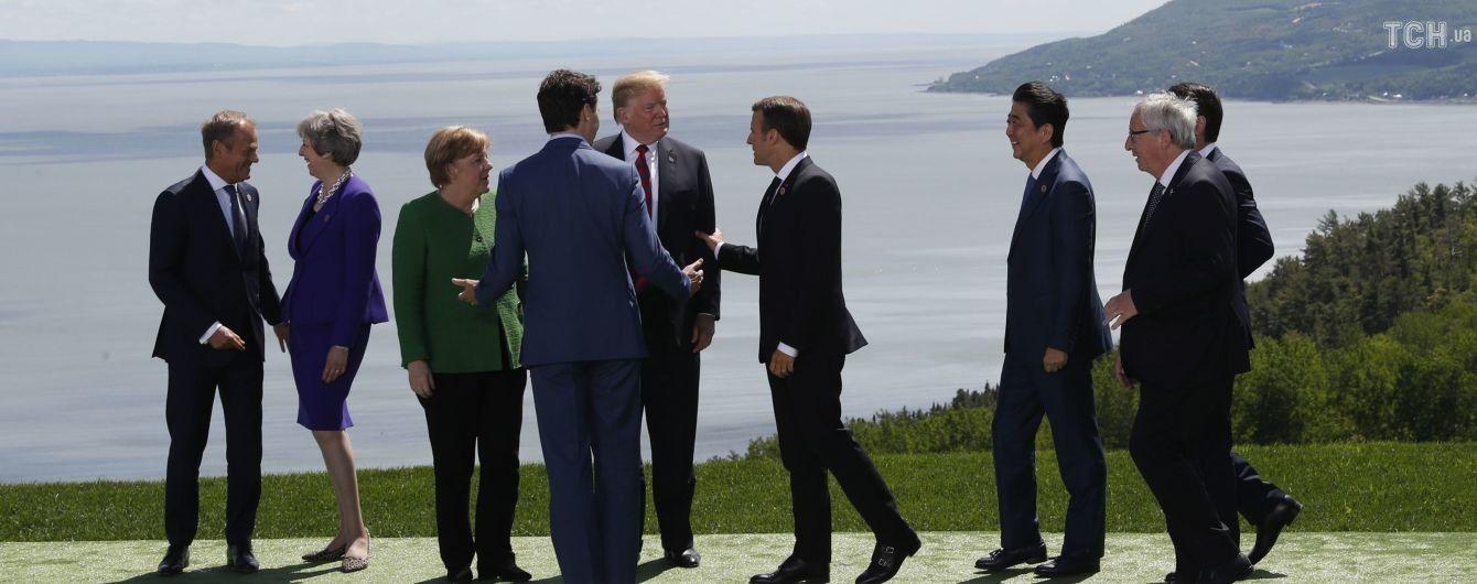 Страны Европы единогласно высказались против возвращения России в G7. Трамп не согласен