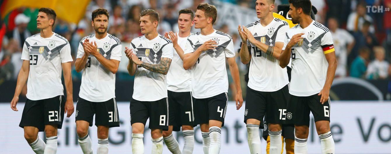 Германия переиграла Саудовскую Аравию перед стартом ЧМ-2018