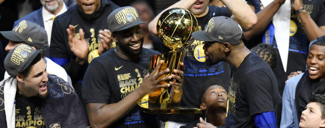 """""""Голден Стейт"""" всуху виграв фінальну серію і другий рік поспіль святкує чемпіонство в НБА"""