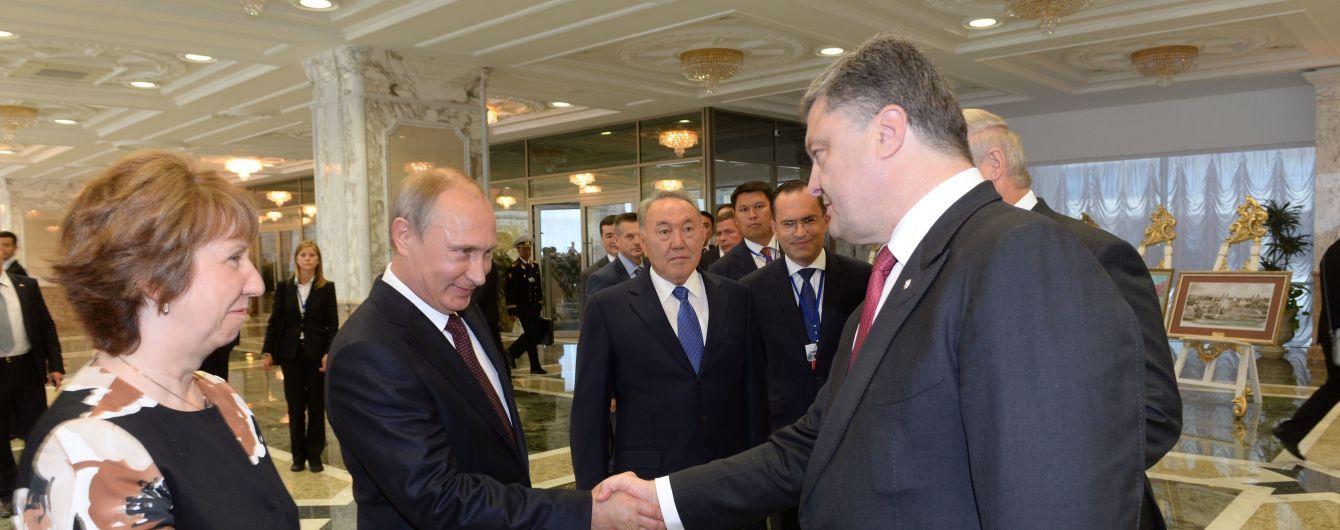 Порошенко і Путін провели телефонну розмову: домовились про візити омбудсменів до ув'язнених громадян