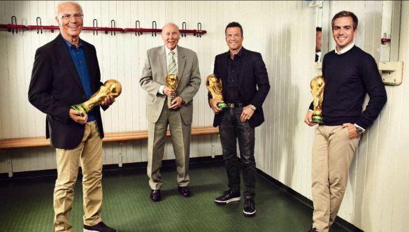 Колишні футболісти збірної Німеччини