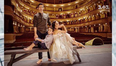 Сын Екатерины Кухар просит приглашение для одноклассниц на балетные шоу