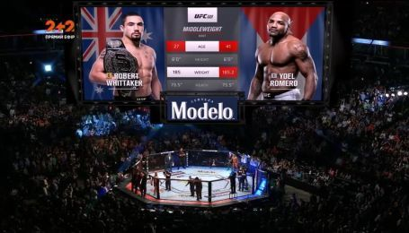 UFC 225. Роберт Уитакер - Йоэль Ромеро. видео боя
