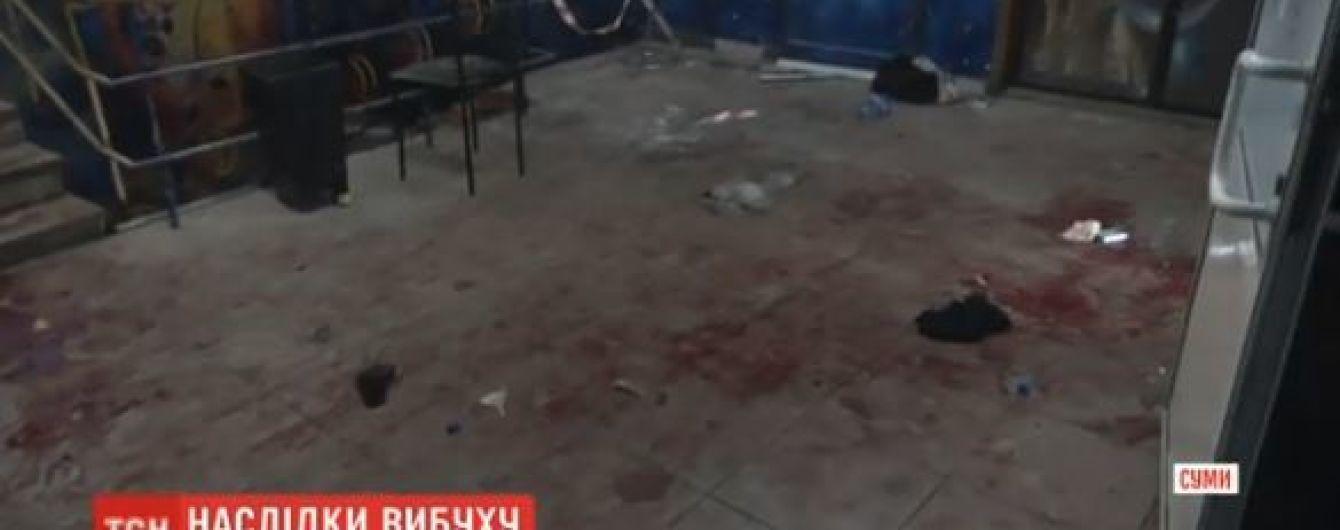 В сумской больнице остаются в тяжелом состоянии шесть пострадавших после взрыва в клубе