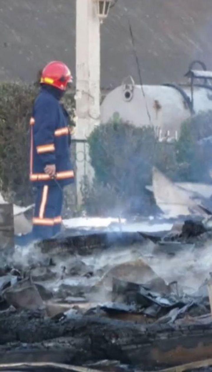 Самый старый храм Западной Украины сгорел на Прикарпатье