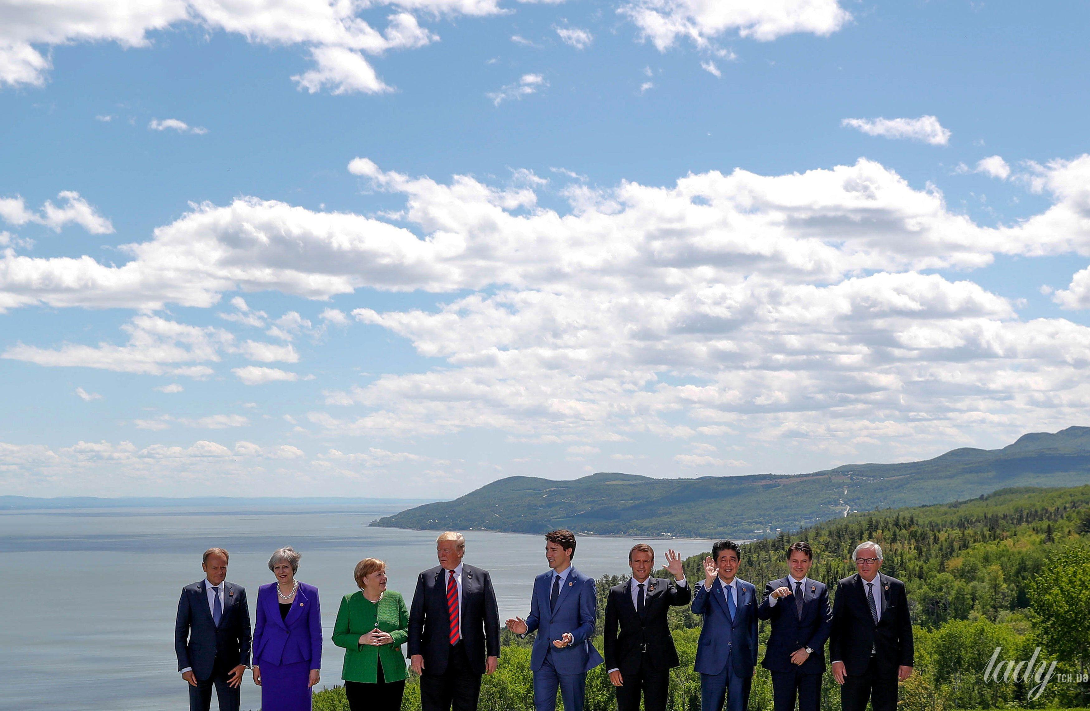 Участники саммита G7